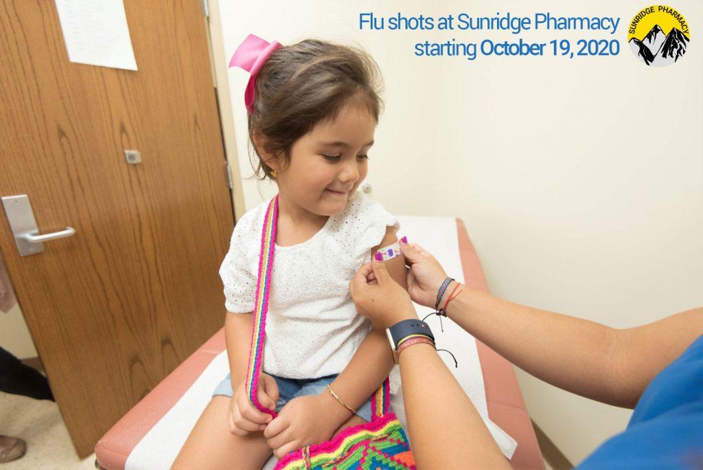 Visit us to get your flu shot starting October 19, 2020.